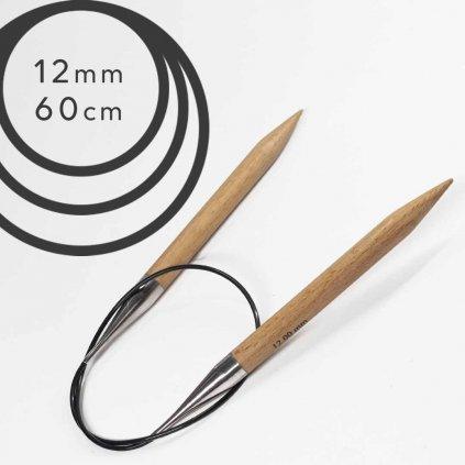 Pevné kruhové jehlice BASIC 12mm