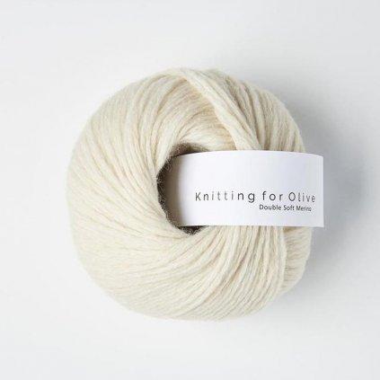 Knitting for Olive Double Soft Merino - White Lamb