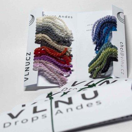 Vzorník Drops Andes