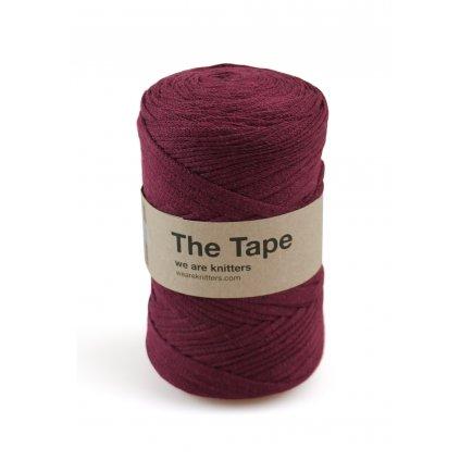 knitting skeins tape bordeaux 01