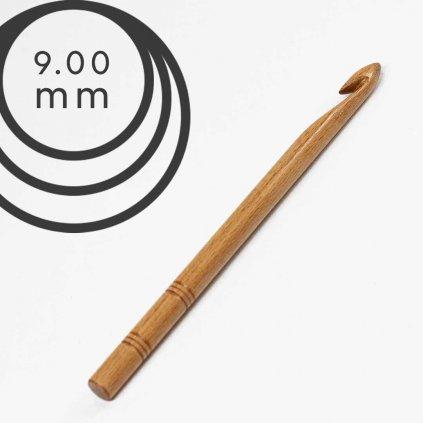 Háček Drops 9,0 mm dřevěný