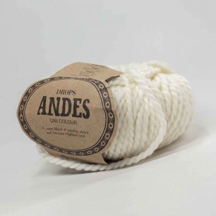Drops Andes UNI 1101 - bílá - bazar