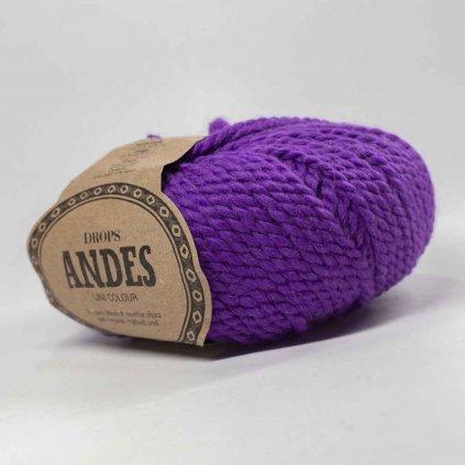 Drops Andes UNI 4066 - jasná fialová - bazar