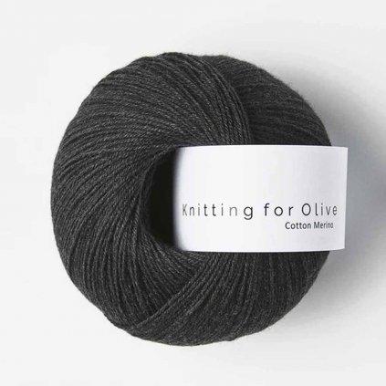 Knitting for Olive Cotton Merino - Slate Gray