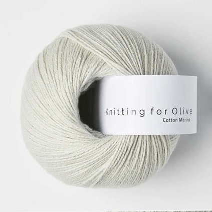 Knitting for Olive Cotton Merino - Putty