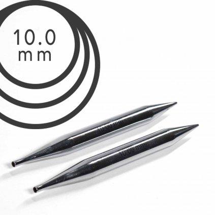 Jehlice kruhové výměnné Knit Pro NOVA METAL - 10.00 mm