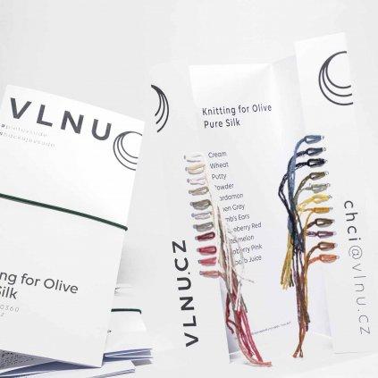 VZORNÍK - Knitting for Olive Pure silk