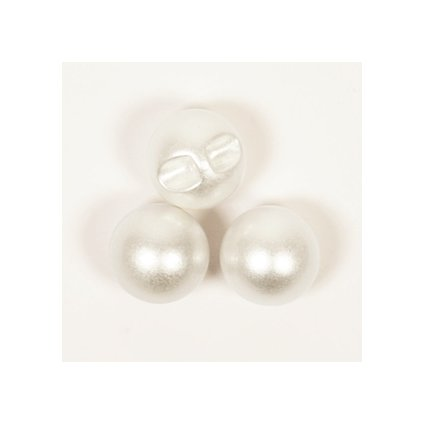 Knoflík Drops 541 - Perla 12 mm