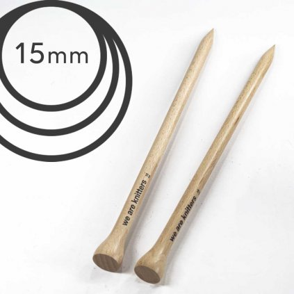 Jehlice rovné WAK - 15.00 mm