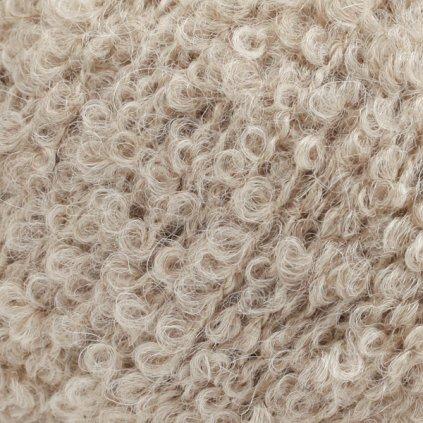 Drops Alpaca Bouclé 2020 - světlá béžová
