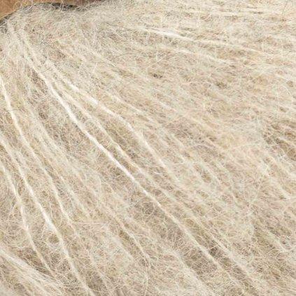 Drops Brushed Alpaca Silk 04 - světlá béžová