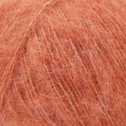Drops Brushed Alpaca Silk 22 - světlá rezavá
