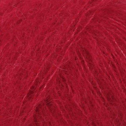 Brushed Alpaca Silk 07 - červená
