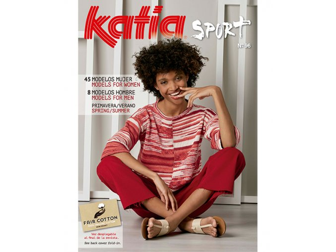book magazine pattern knit crochet woman spring summer katia 6072 es en