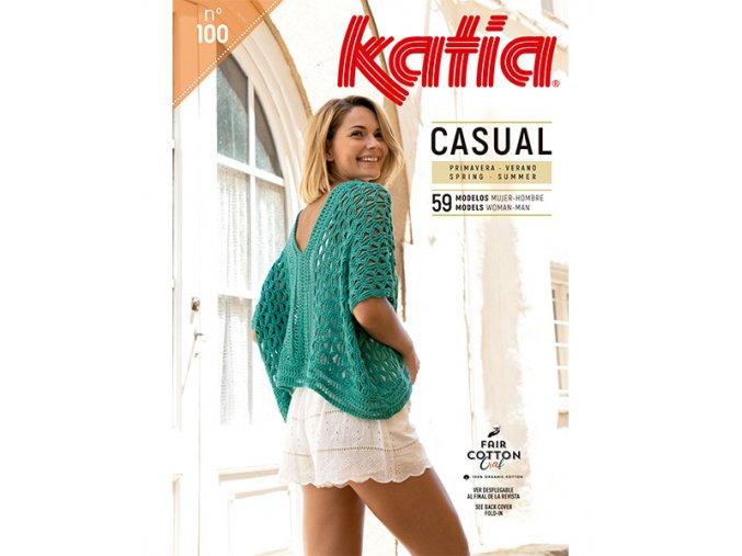 book magazine pattern knit crochet woman spring summer katia 6122 es en