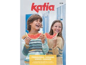 book magazine pattern knit crochet kids spring summer katia 6121 es en