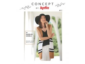 book magazine pattern knit crochet woman spring summer katia 6123 es en