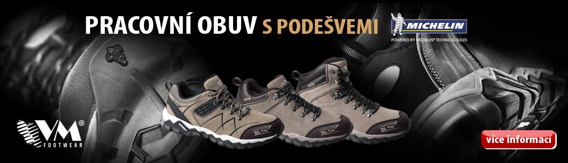 Pracovní obuv s podešvemi Michelin®