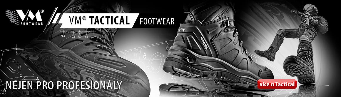 VM Tactical - obuv nejen pro profesionály