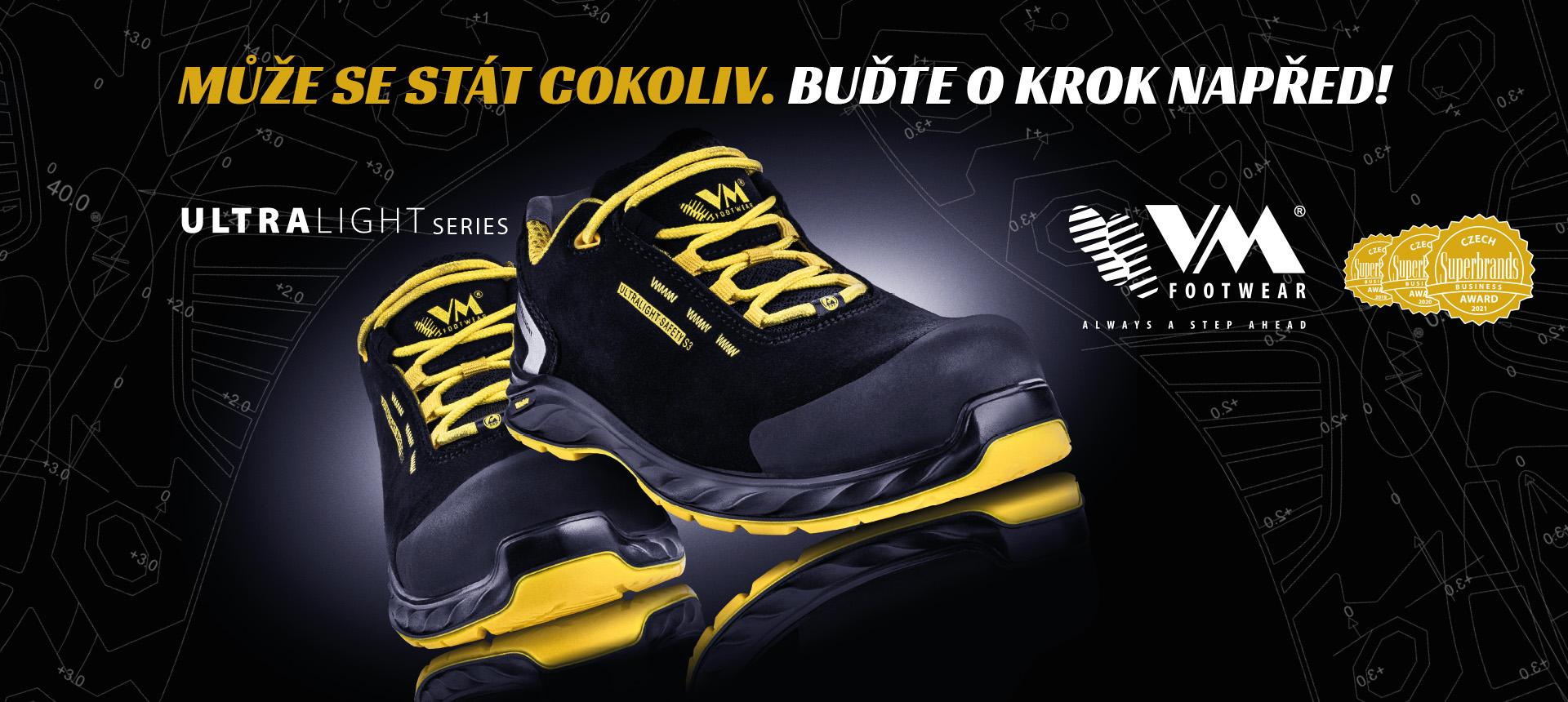 Ultralight - bezpečnostní obuv nejen pro profesionály