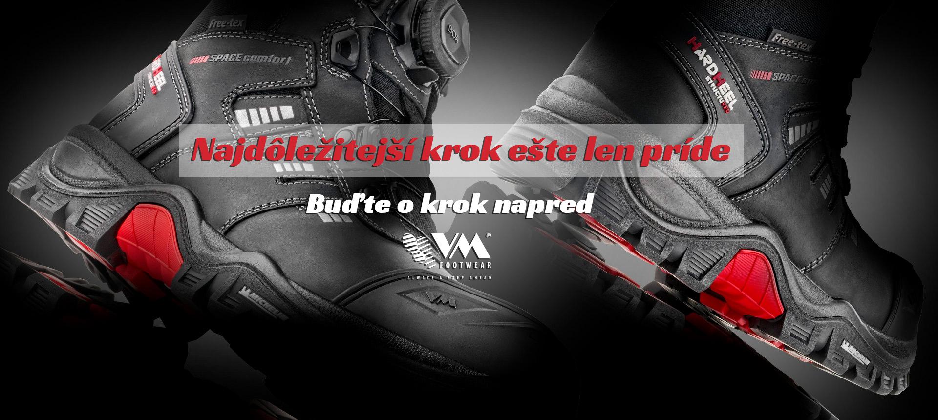 Pracovná a bezpečnostná obuv