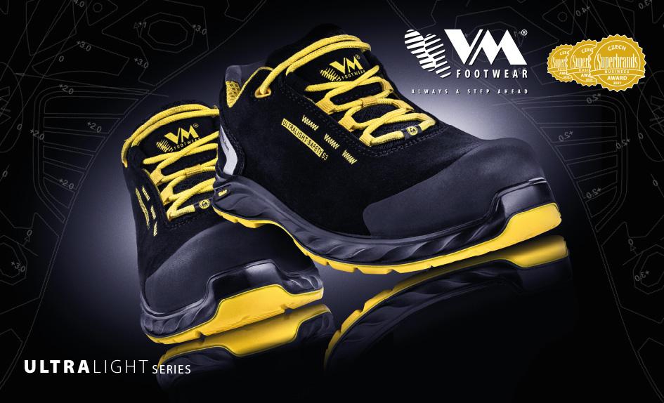 Ultralight - bezpečnostná obuv nielen pre profesionálov