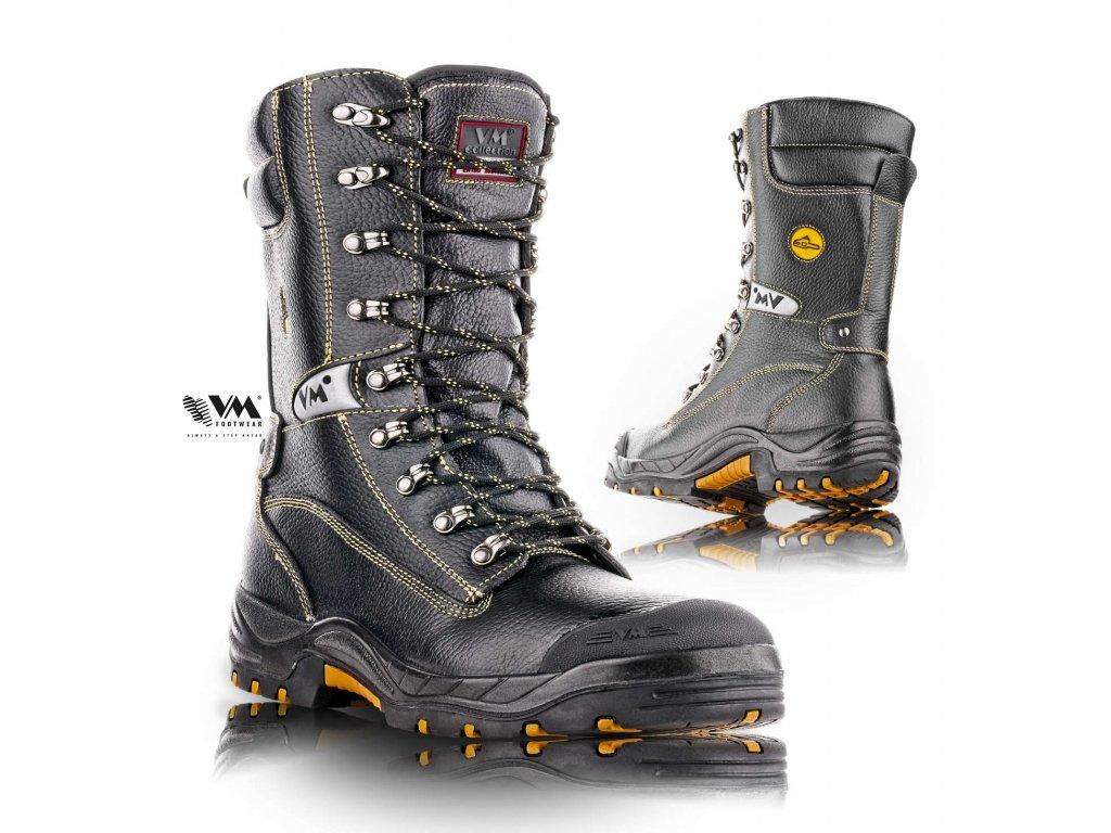 BELFAST holeňová bezpečnostná obuv