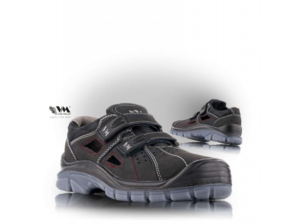LINCOLN sandál bezpečnostný