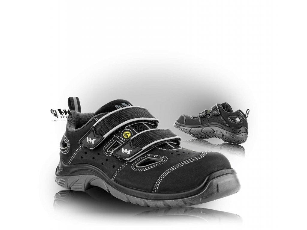 LYON sandál bezpečnostný ESD