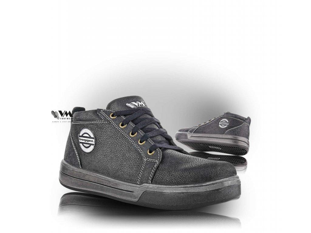 MADISON poločlenková pracovná obuv