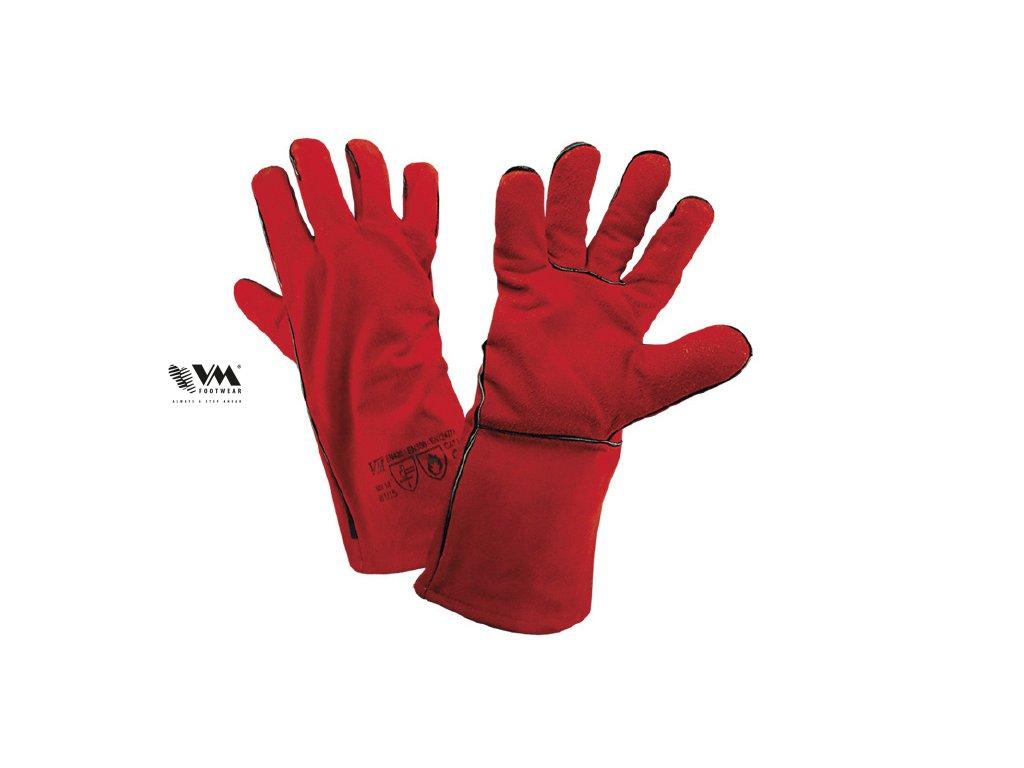 W1/15-ochranné pracovné zváračské rukavice