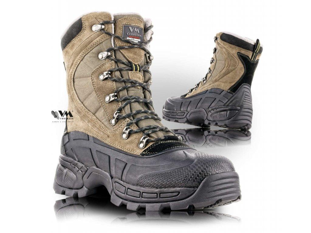 WELLINGTON poloholeňová pracovná obuv