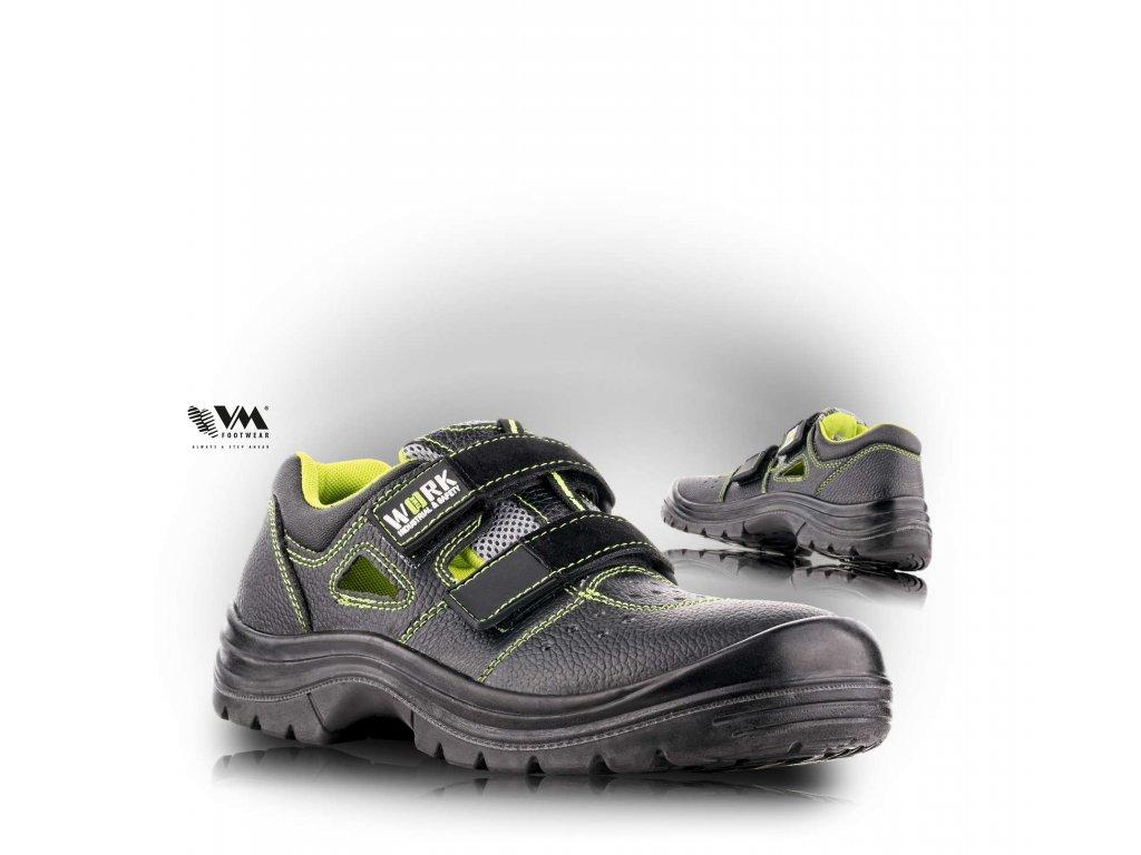 UPPSALA sandál bezpečnostný