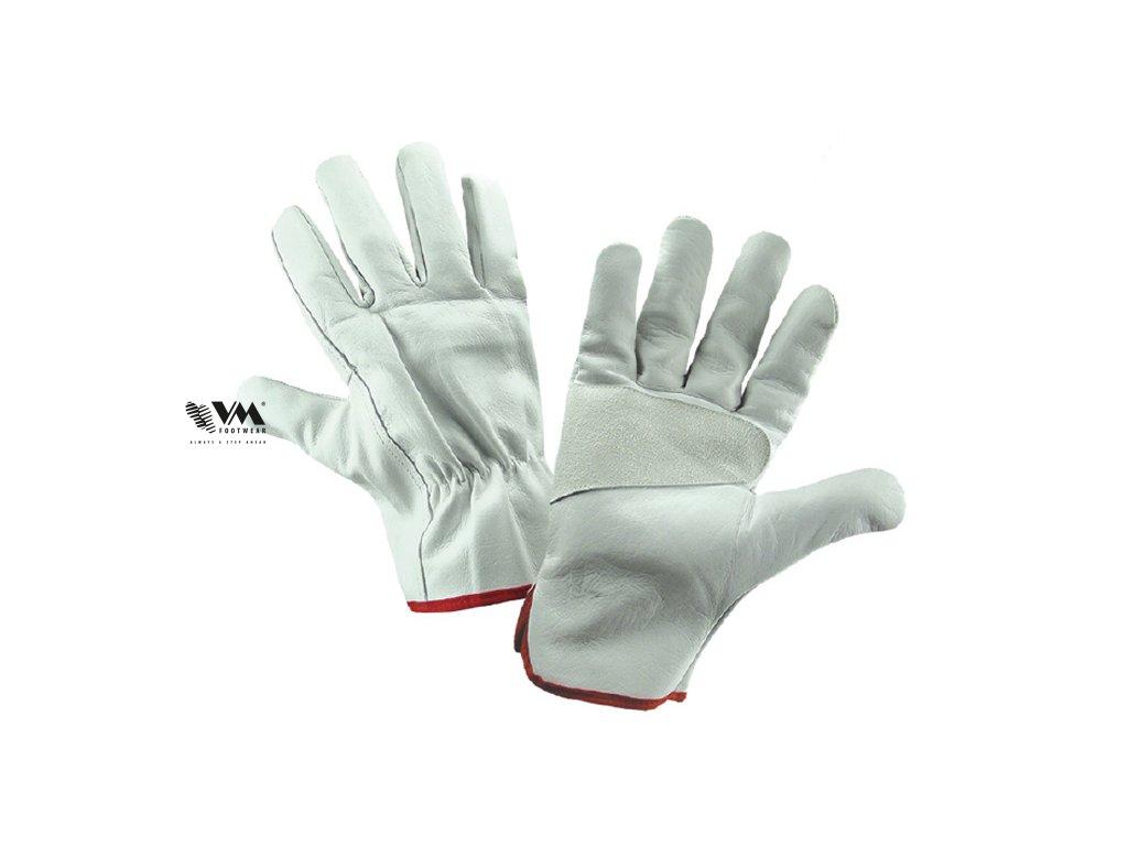 3030-ochranné pracovné rukavice, celokožené