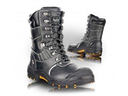 GLASGOW poloholeňová bezpečnostná obuv