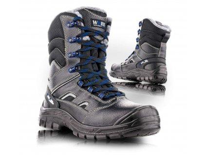 SHEFFIELD poloholeňová pracovná obuv, zimná