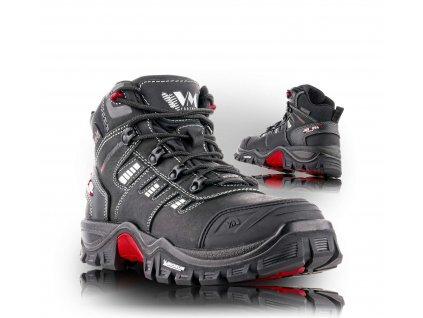 BUFFALO členková pracovná obuv