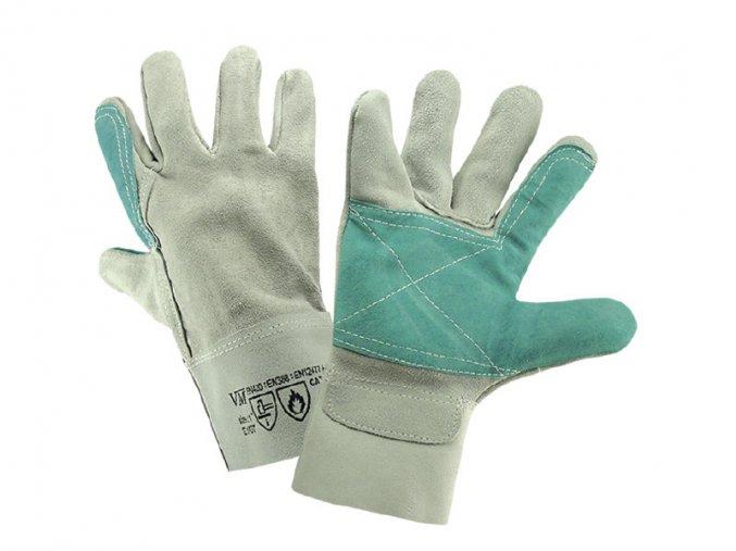 E1/07-ochranné pracovní svářečské rukavice