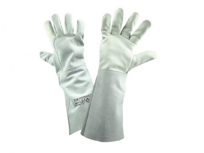 E1/15LI-ochranné pracovní svářečské rukavice