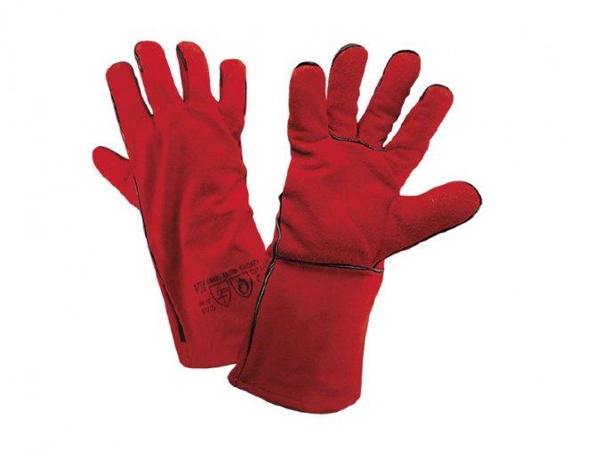 W1/15-ochranné pracovní svářečské rukavice
