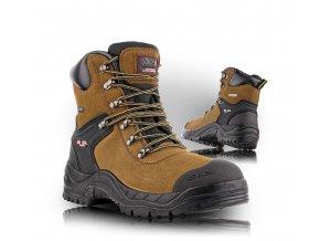 BOGOTA poloholeňová pracovná obuv