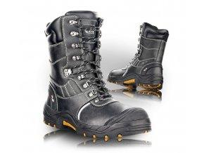 GLASGOW poloholeňová pracovná obuv