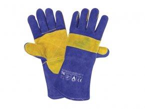W1/20-ochranné pracovní svářečské rukavice