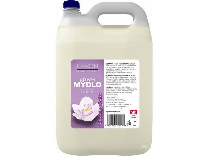 10025 lavon penove mydlo divoka orchidea 5l