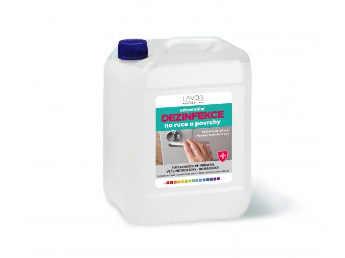 LAVON univerzální dezinfekce na ruce a povrchy 5l