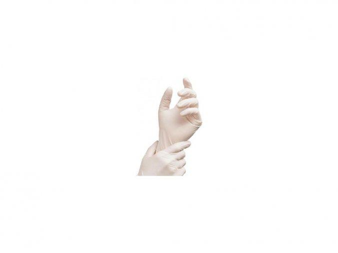 rukavice latex bile