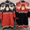 Šaty vánoční sametové dlouhý rukáv dámské (S/M ONE SIZE) ITALSKÁ MÓDA IMWD201061/DR
