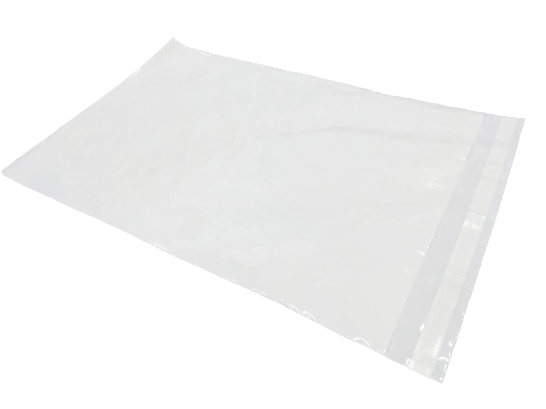 Plastové obálky bílé