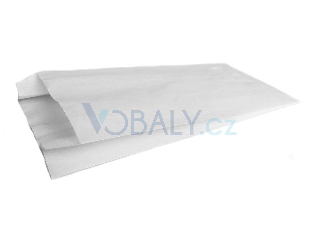 papírové sáčky svačinové bílé potravinářské