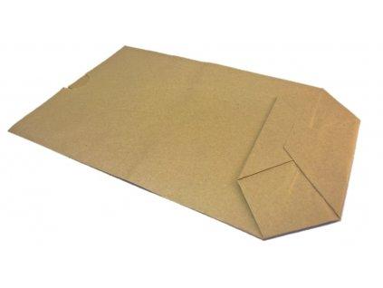 Papírový sáček kupecký s křížovým dnem 100 ks více variant